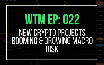 New Crypto Projects Booming & Growing Macro Risk (WTM Ep: 022)