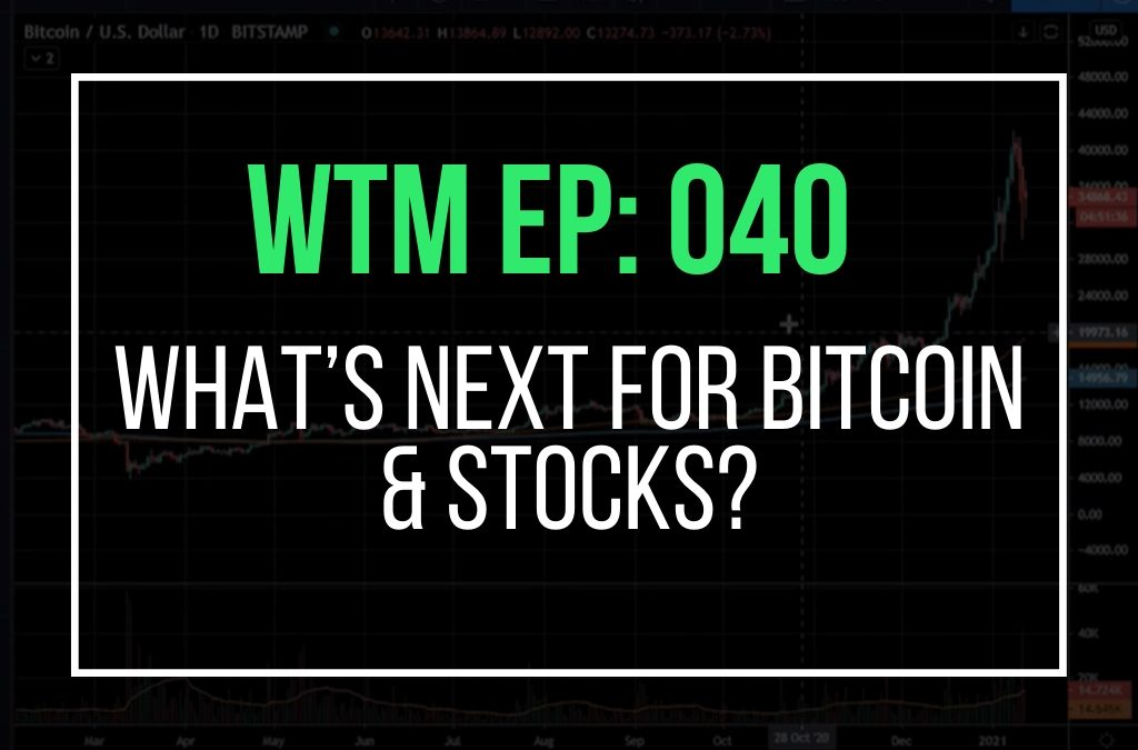 What's Next For Bitcoin & Stocks? (WTM Ep: 040)