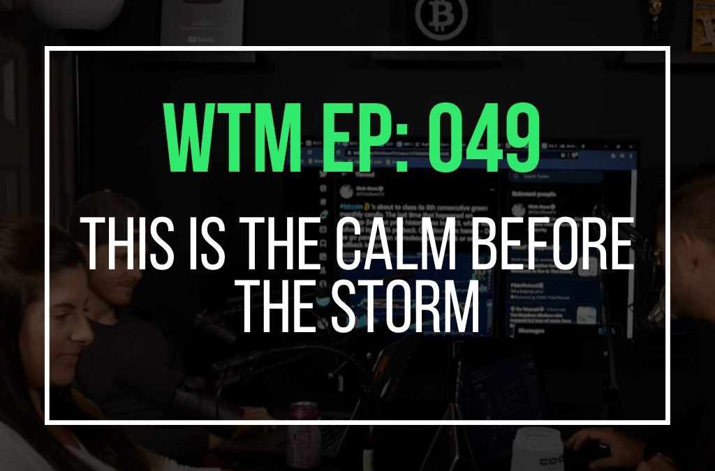 This Is The Calm Before The Storm (WTM Ep: 049)
