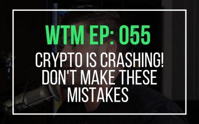 Crypto Is Crashing! Don't Make These Mistakes (WTM Ep: 055)